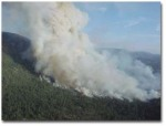2001-8-21 Fire on Peckinpah Ridge