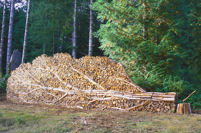 Alastair Heseltine woodpile