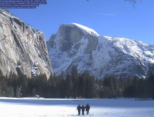 Yosemite, Dec 31, 2011