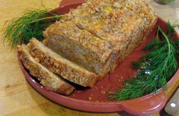 Easy Cheddar-dill Bread