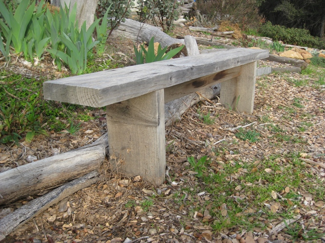 Building Benches And Paths Of Desire Flea Market Gardening