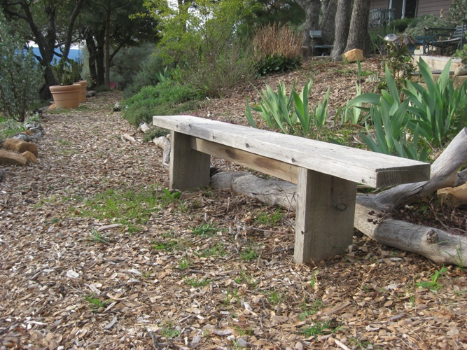 simple sitting bench plans