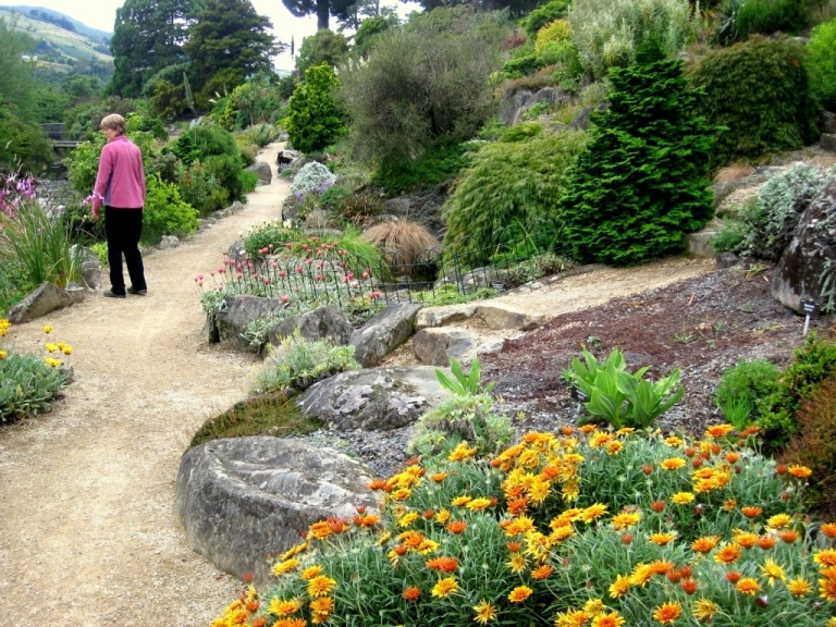 garden design: garden design with unique gardens rock and alpine
