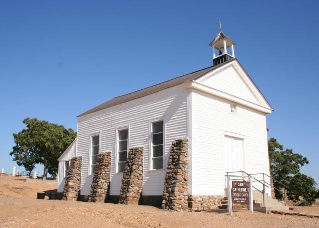 St Catherine's Church, Hornitos