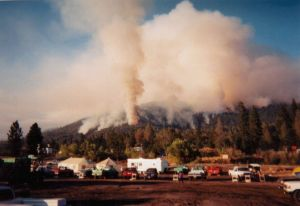 2001-8-21 North Fork Fire