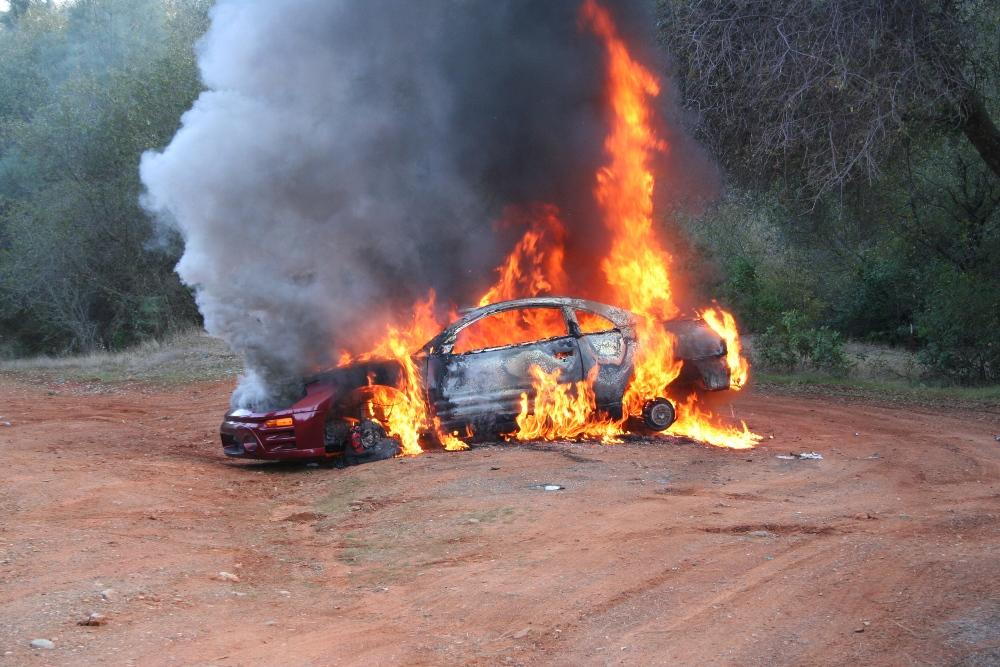 2007 Jan 20-Stolen car fire