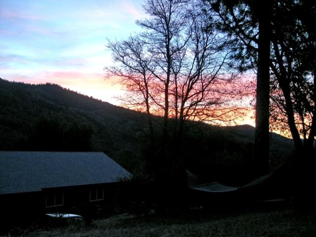 Beautiful sunrises most mornings