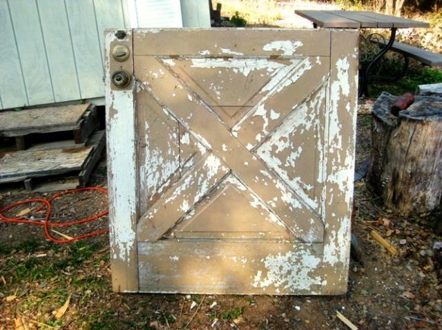 Dutch door before