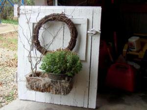 Jeanne Sammons's barn door