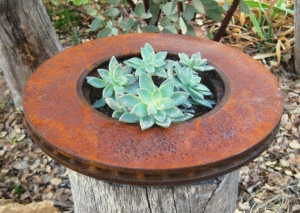 Rusty brake 'container'