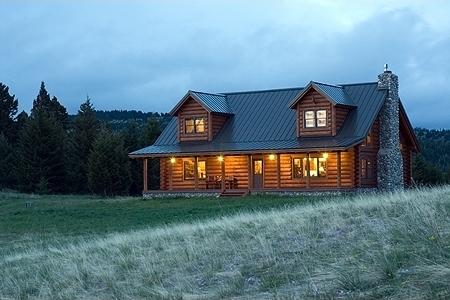 Choosing a home builder in the sierra foothills sierra for Log cabin builders in california