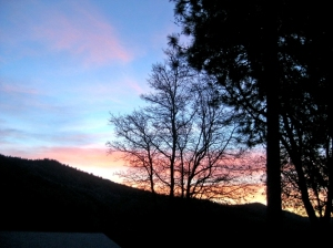 Dawn in the Sierras
