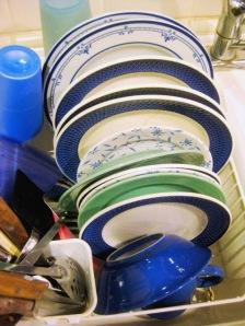 dishes at dawn