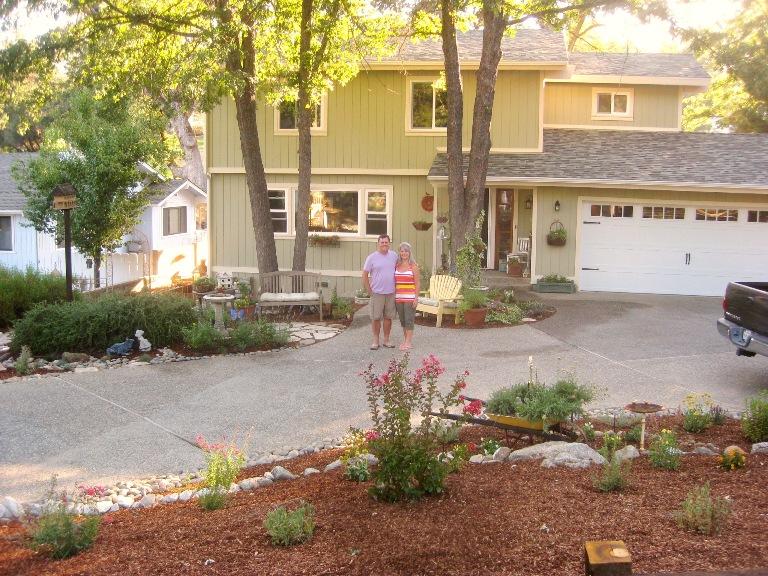 New front garden landscape. No pink!