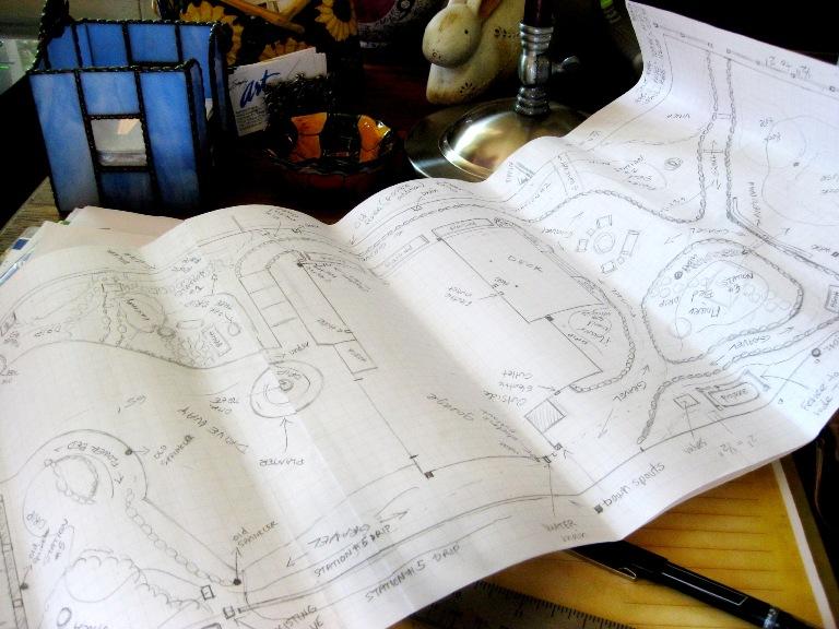 Tim's landscape plan